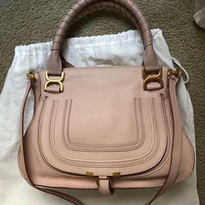 Chloe Marcie Medium Satchel Bag - Like New!